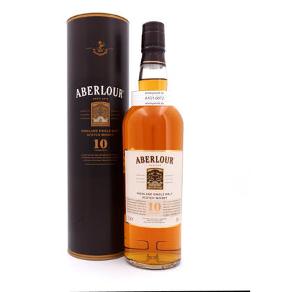 Aberlour 10 Jahre in Tube 0,70 Liter/ 40.00% Vol