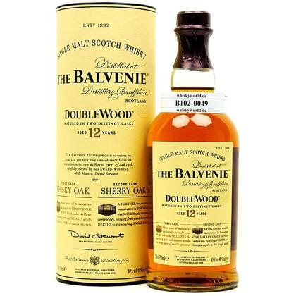 Balvenie 12 Jahre Double Wood Sherry Oak finish in Tube 0,70 Liter/ 40.00% Vol