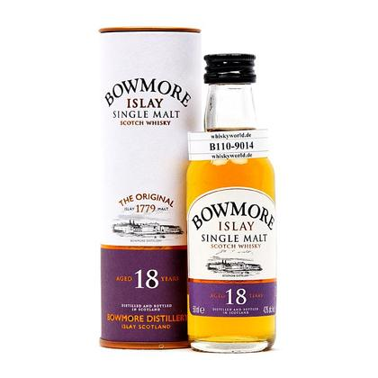 Bowmore 18 Jahre in Tube 0,050 Liter/ 43.00% Vol