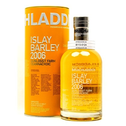 Bruichladdich Islay Barley Dunlossit Farm Jahrgang 2006 in Metalltube 0,70 Liter/ 50.00% Vol