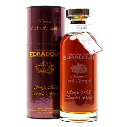 Edradour Natural Cask strength Collection in Tube 0,70 Liter/ 57.70% Vol