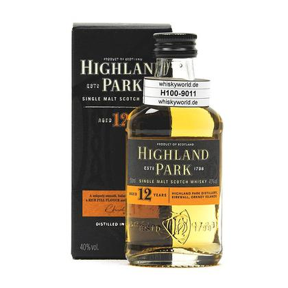Highland Park 12 Jahre in Geschenkpackung 0,050 Liter/ 40.00% Vol