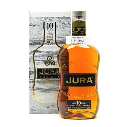 Isle of Jura 10 Jahre in Geschenkpackung 0,70 Liter/ 40.00% Vol