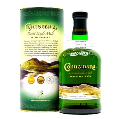 Connemara Peated Single Malt in Tube 0,70 Liter/ 40.00% Vol