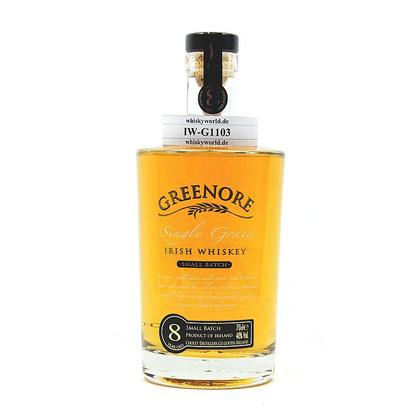 Greenore 8 Jahre Single Grain Irish Whiskey 0,70 Liter/ 40.00% Vol