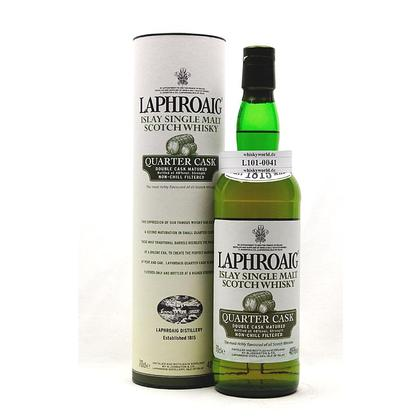 Laphroaig Quarter Cask Double Cask Matured in Tube 0,70 Liter/ 48.00% Vol