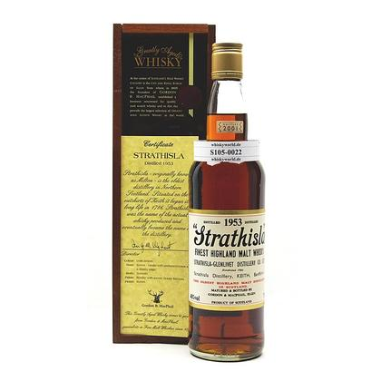 Strathisla Vintage 1953 in Holzbox 0,70 Liter/ 40.00% Vol