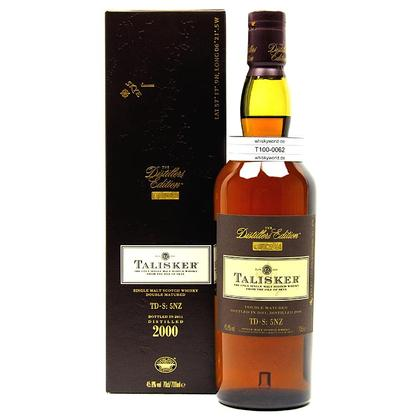 Talisker Distillers Edition Amoroso Cask Wood finish in Geschenkpackung 0,70 Liter/ 45.80% Vol