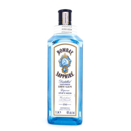Bombay London Dry Gin Sapphire Literflasche 1 Liter/ 40.00% Vol