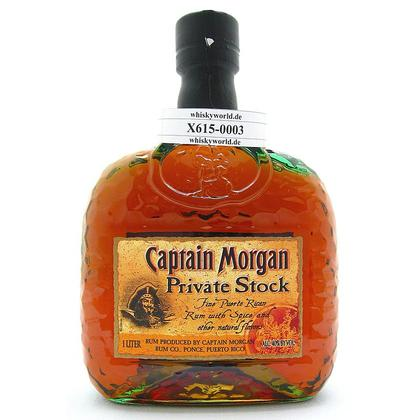 Captain Morgan Private Stock Literflasche 1 Liter/ 40.00% Vol