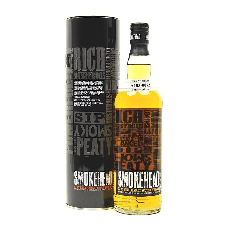 Ian Macleod Smokehead ohne Nennung D.A. 0,70 L/ 43.00%
