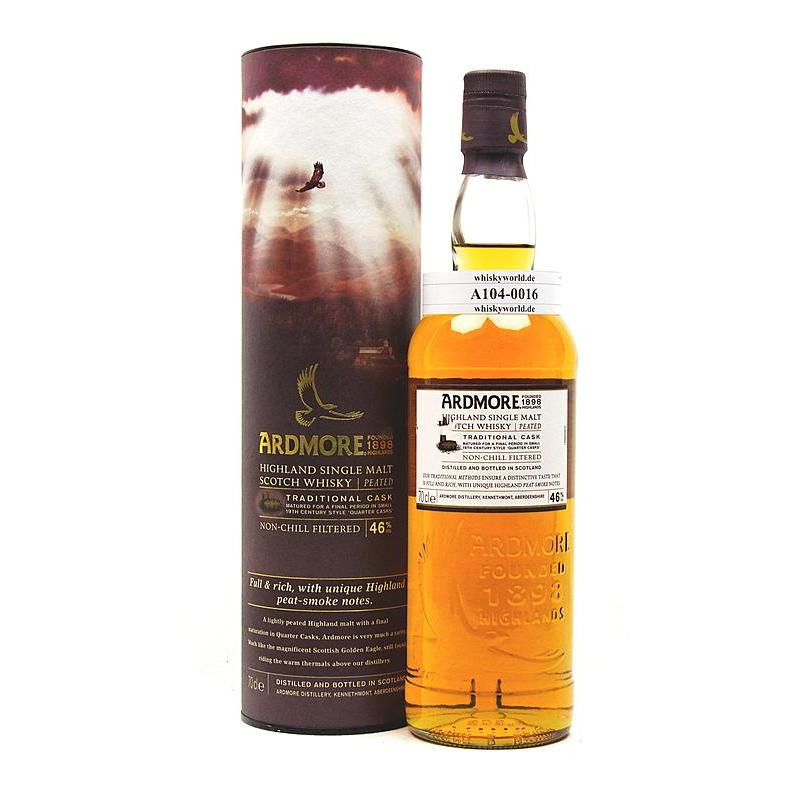 Ardmore Traditional Cask Final Matured in Quarter Casks 0,70 L/ 46.00%