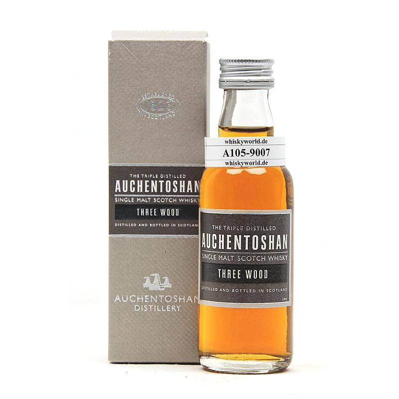 Auchentoshan Three Wood 0,050 L/ 43.00%