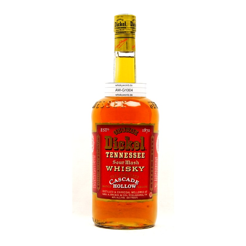 George Dickel Cascade Hollow Sour Mash Whisky 1 L/ 40.00%