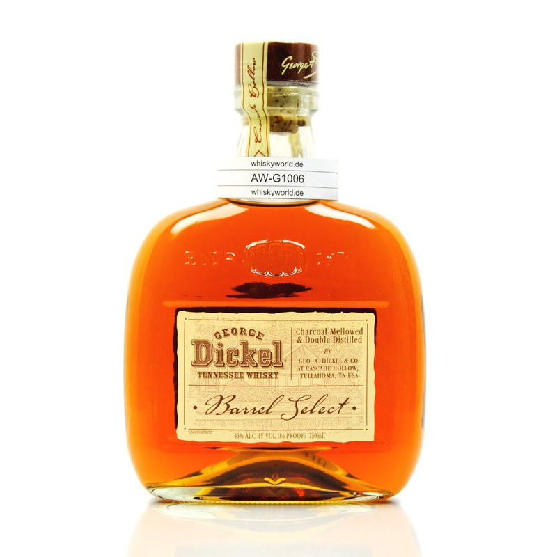 George Dickel Barrel Select 0,70 L/ 43.00%