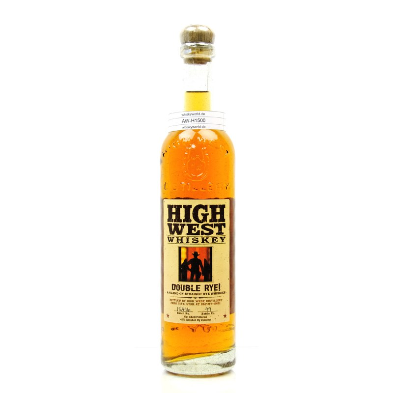 High West Double Rye A Blend Of Straight Rye Whiskies 0,70 L/ 46.00%