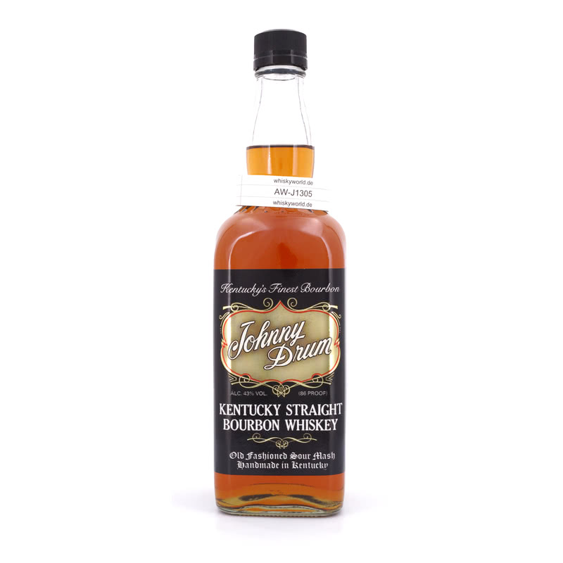 Johnny Drum Black Label Kentucky Straigth Bourbon Whiskey 0,70 L/ 43.00%