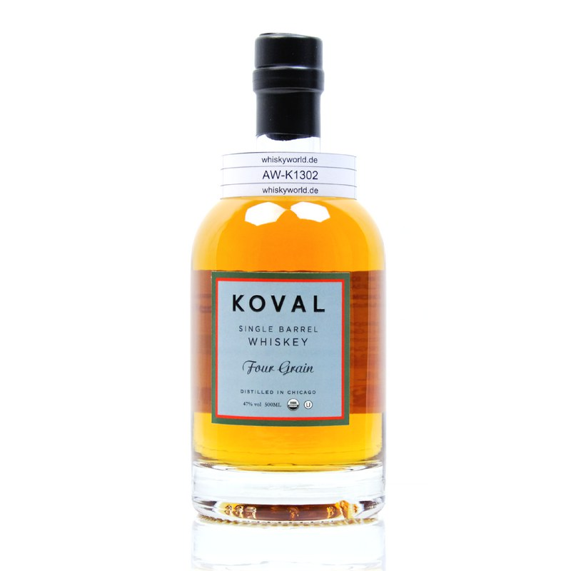 Koval Four Grain Single Barrel Whiskey 0,50 L/ 47.00%