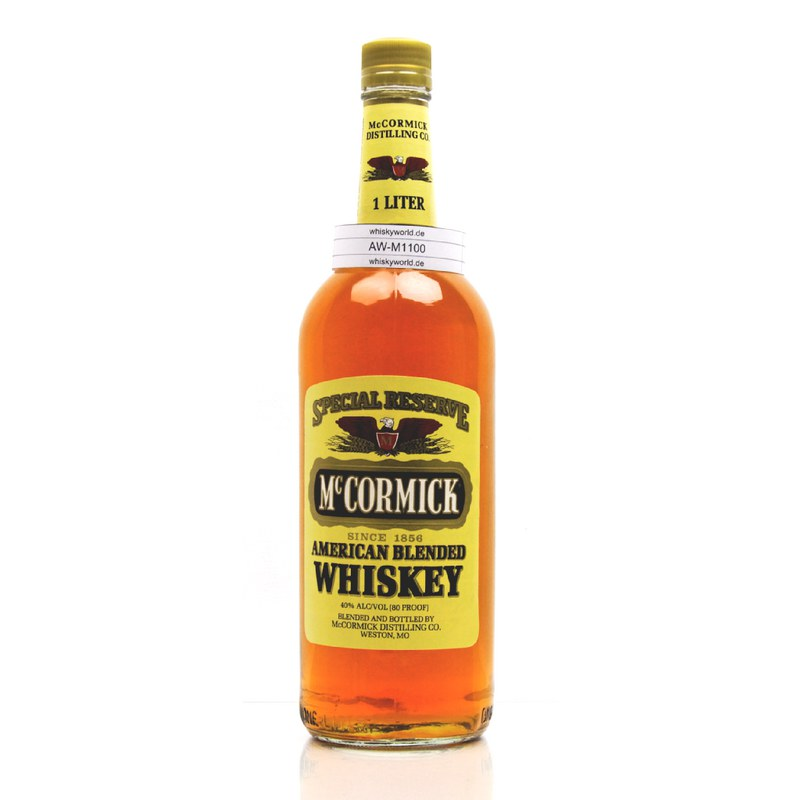McCormick Special Reserve Literflasche American Blended 1 L/ 40.00%