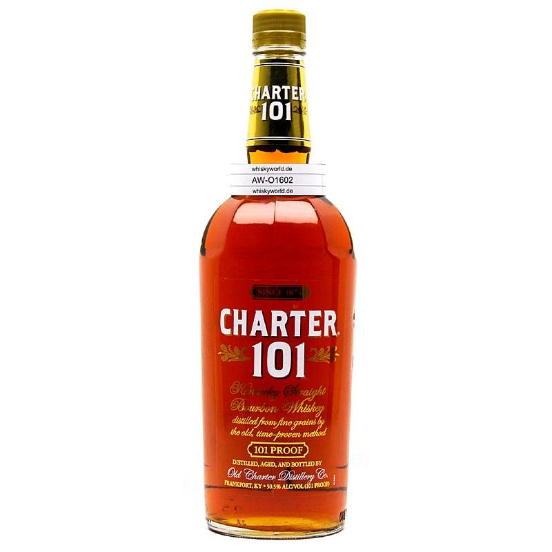 Old Charter 101 Literflasche Kentucky Straight Bourbon Whiskey 1 L/ 50.50%