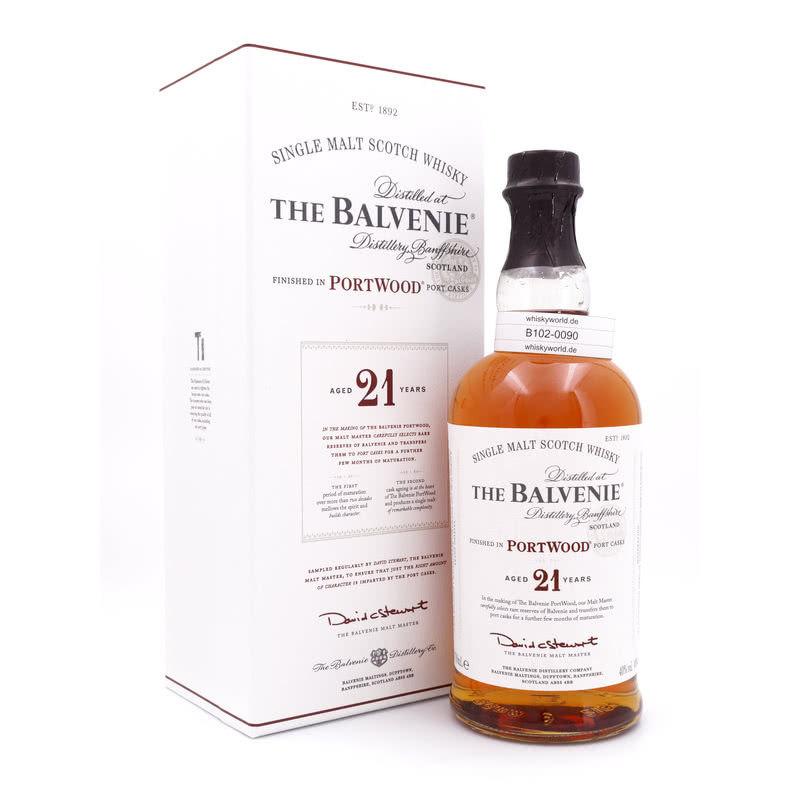 Balvenie 21 Jahre Port Wood finish 0,70 L/ 40.00%