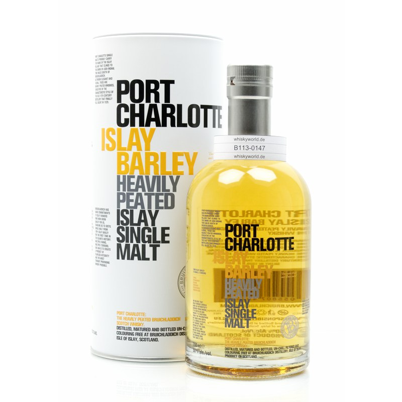 Bruichladdich Port Charlotte Islay Barley Heavily Peated 0,70 L/ 50.00%