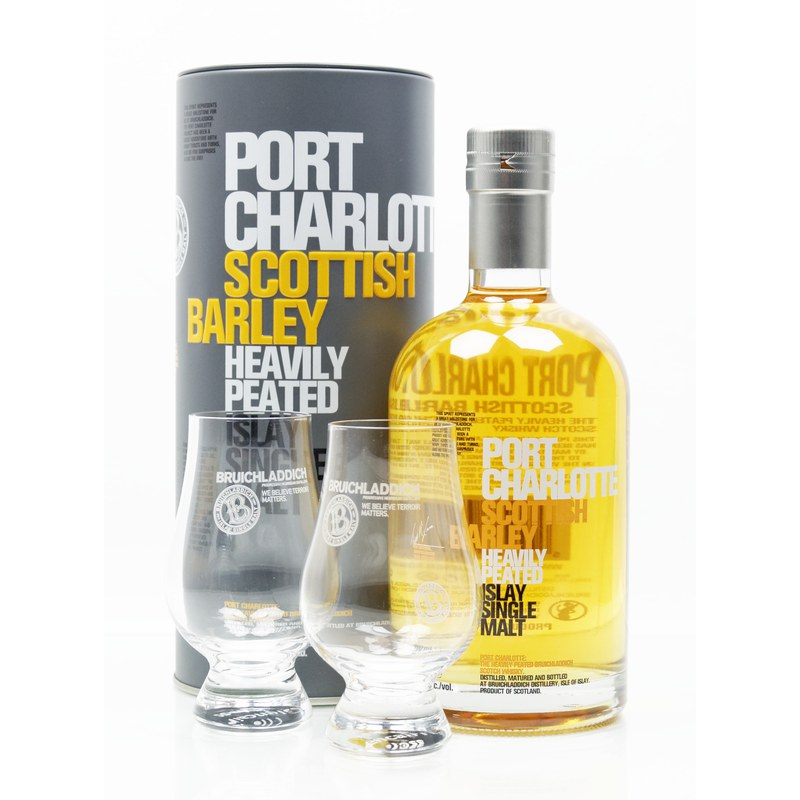 Bruichladdich Port Charlotte Scottish Barley Heavily Peated 0,70 L/ 50.00%