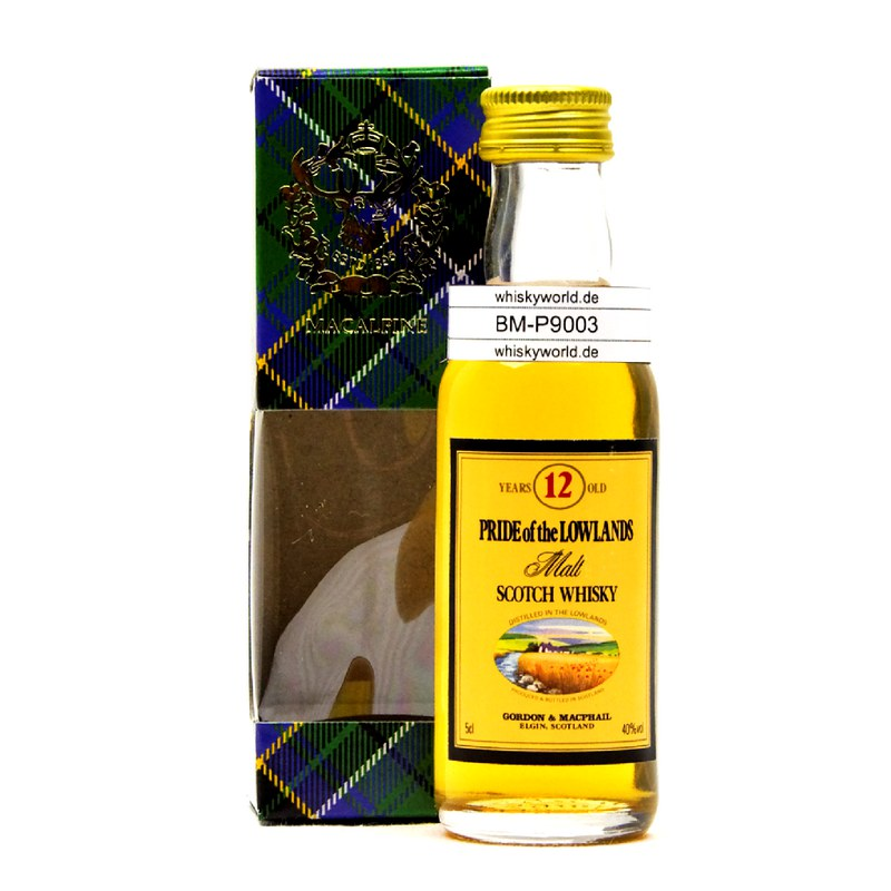 Gordon & MacPhail Pride of Miniatur the Lowlands 12 Jahre 0,050 L/ 40.00%