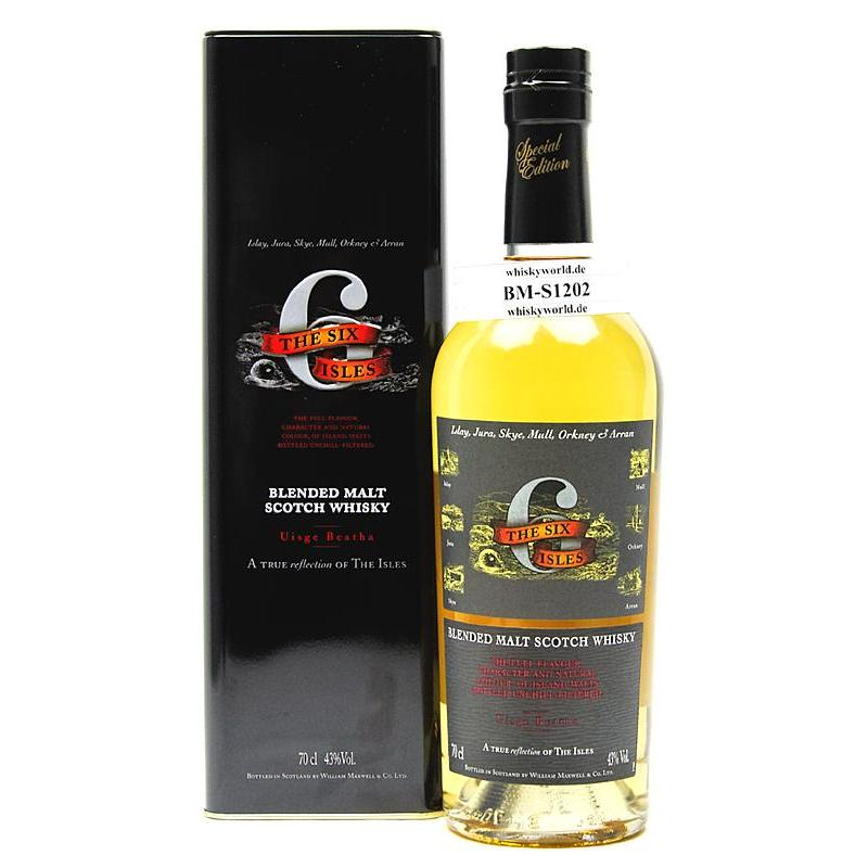 The Six Isles Island Blended Malt 0,70 L/ 43.00%