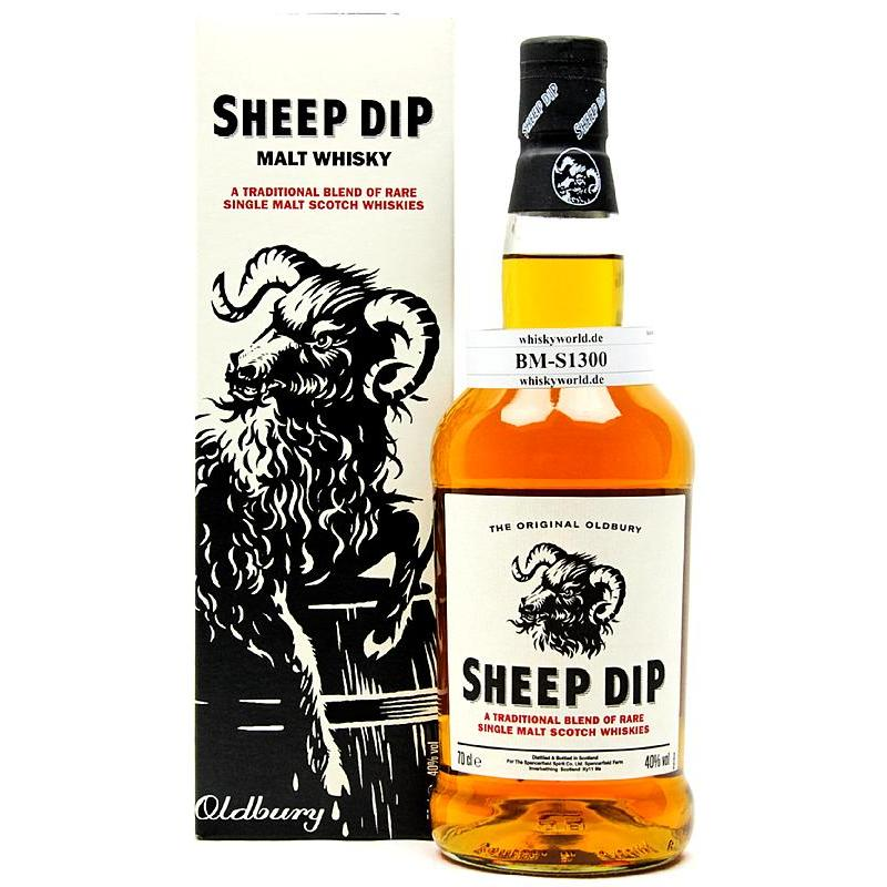 Sheep Dip The Original Oldbury A Traditional Blend Of Rare Single Malt Scotch 0,70 L/ 40.00%