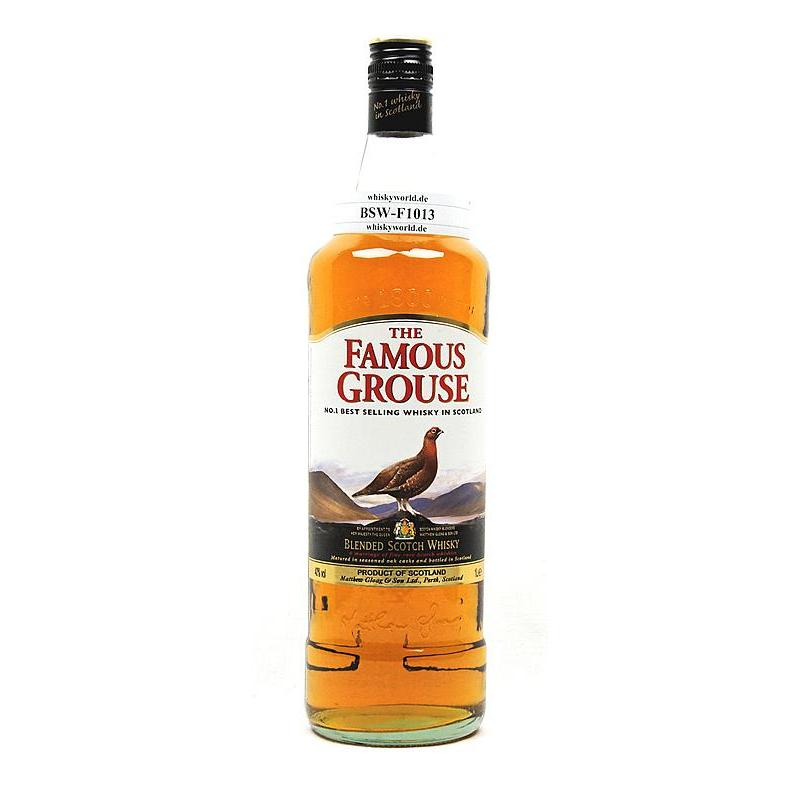 Famous Grouse Blended Scotch Whisky Literflasche 1 L/ 40.00%