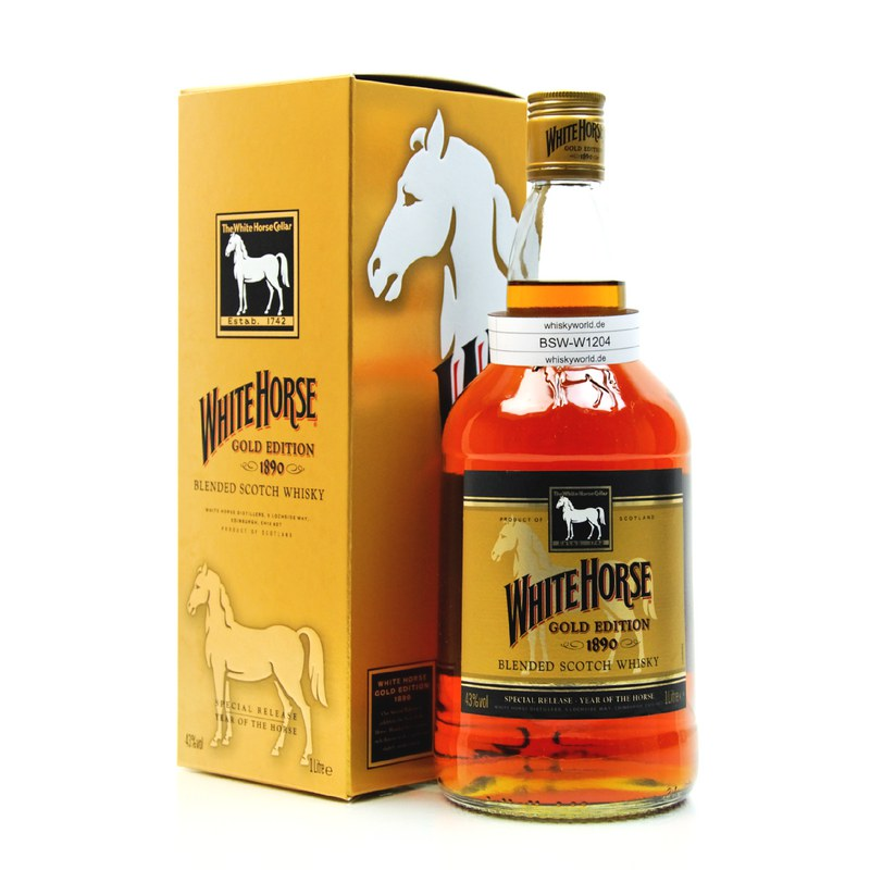 White Horse Gold Edition Special 2014 Year of the Horse 1 L/ 43.00%