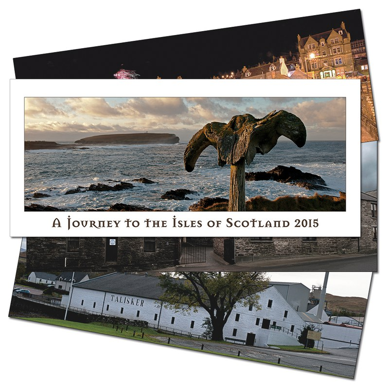 Heinz Fesl Panorama-Wandkalender 2015 A Journey To The Isles Of Scotland 1 St.