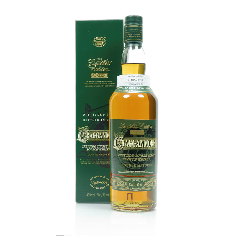 Cragganmore Distillers Edition Port Wine Cask Wood finish 0,70 L/ bei Whiskyworld.de - Whisky & More