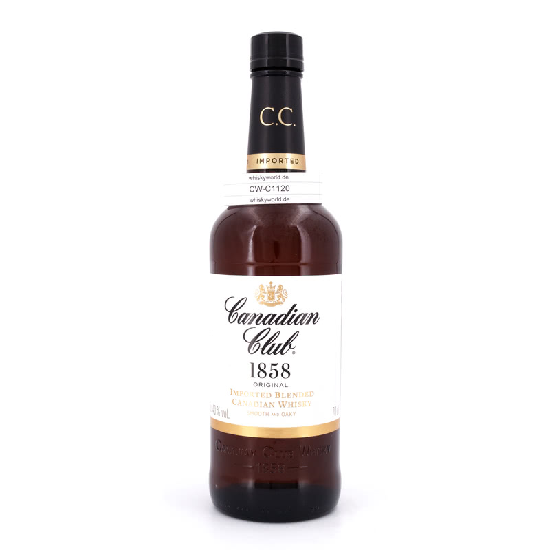 Canadian Club Blended Whisky 0,70 L/ 40.00% - broschei