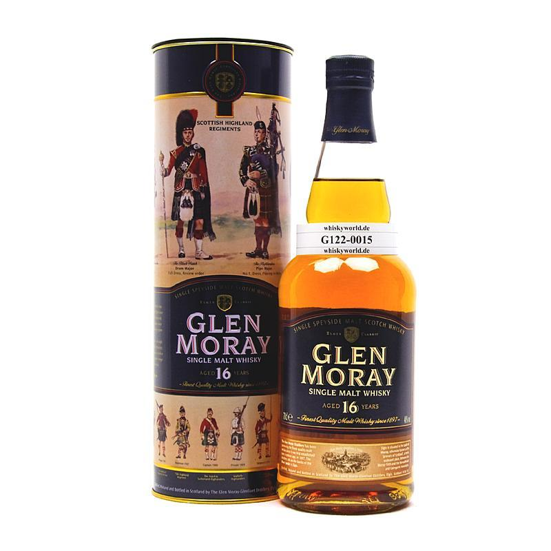Glen Moray 16 Jahre in Metalltube