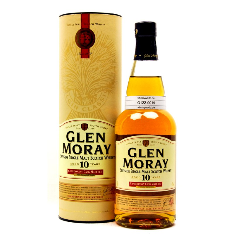 Glen Moray Chardonnay Cask Matured 10 Jahre