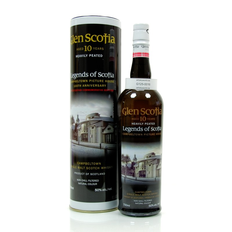 Glen Scotia 10 Jahre Picture House Heavily Peat...