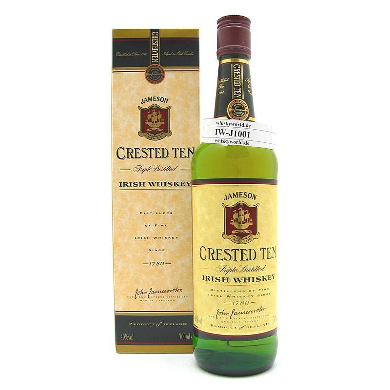 Jameson Crested Ten 0,70 L/ 40.00%