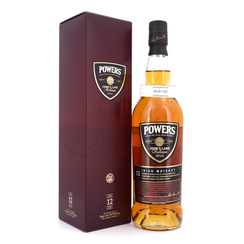Powers 12 Jahre John`s Lane Release 0,70 L/ 46.00%