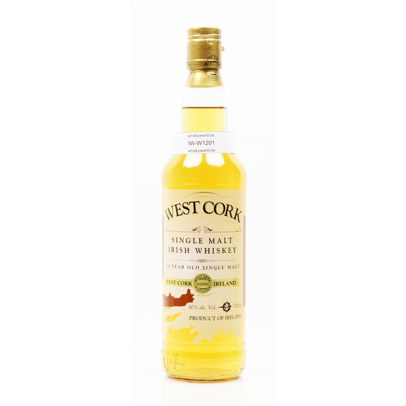 West Cork 10 Jahre Single Malt 0,70 L/ 40.00%