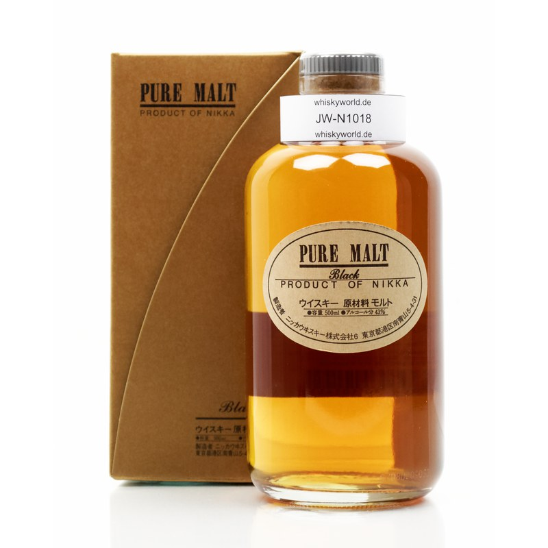 Nikka Pure Malt Black 0,50 L/ 43.00%