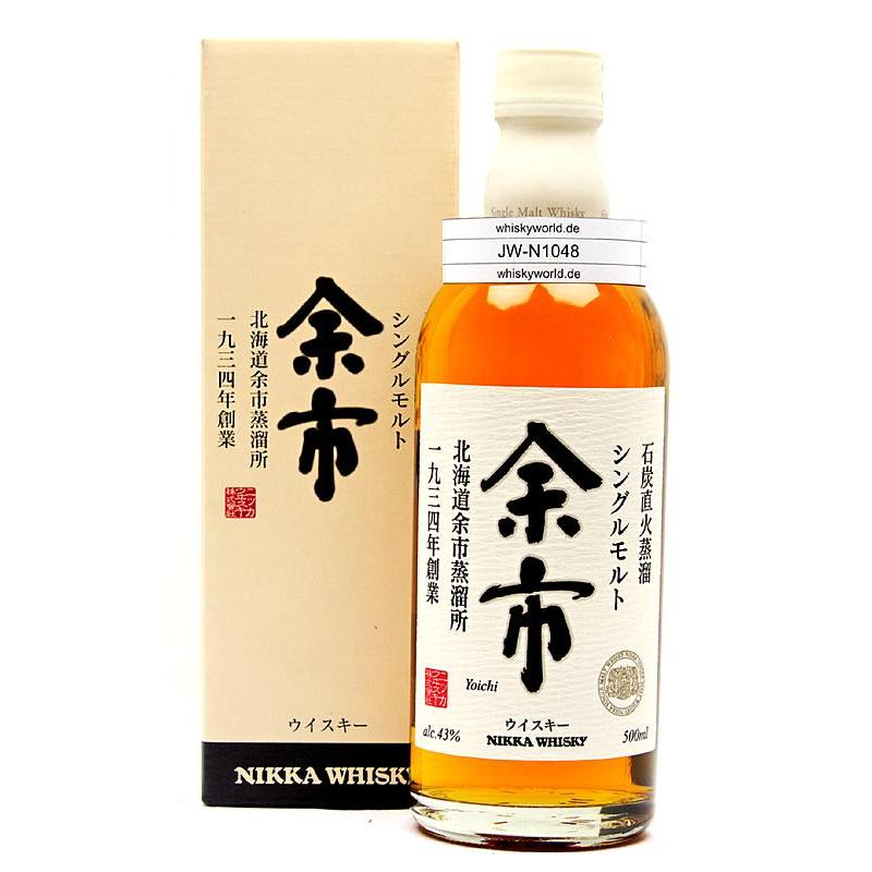 Nikka no age Single Malt Yoichi in Geschenkpackung