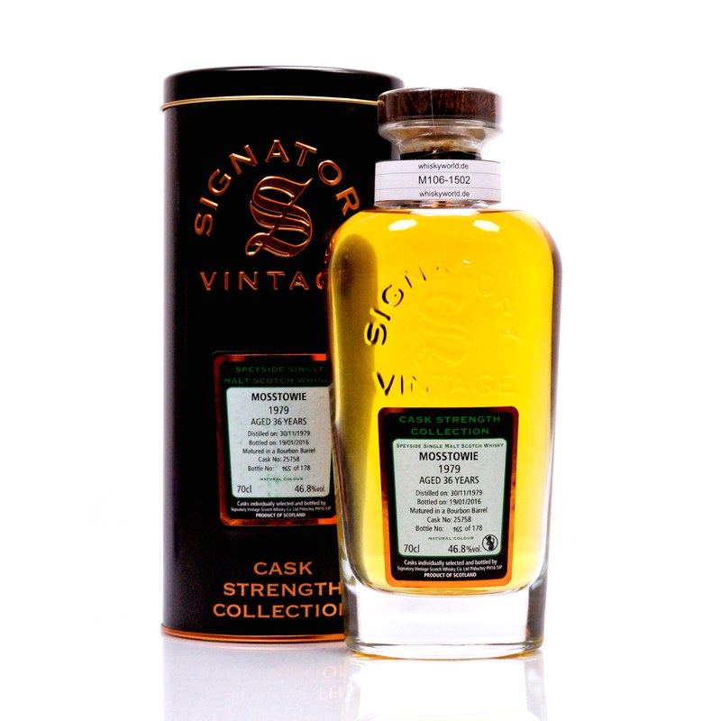 Mosstowie Cask strength Collection 36 Jahre 0,70 L/ 46.80%