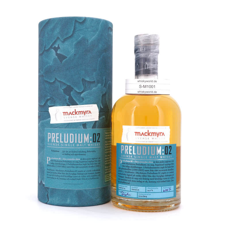 Mackmyra Preludium:02 in Tube
