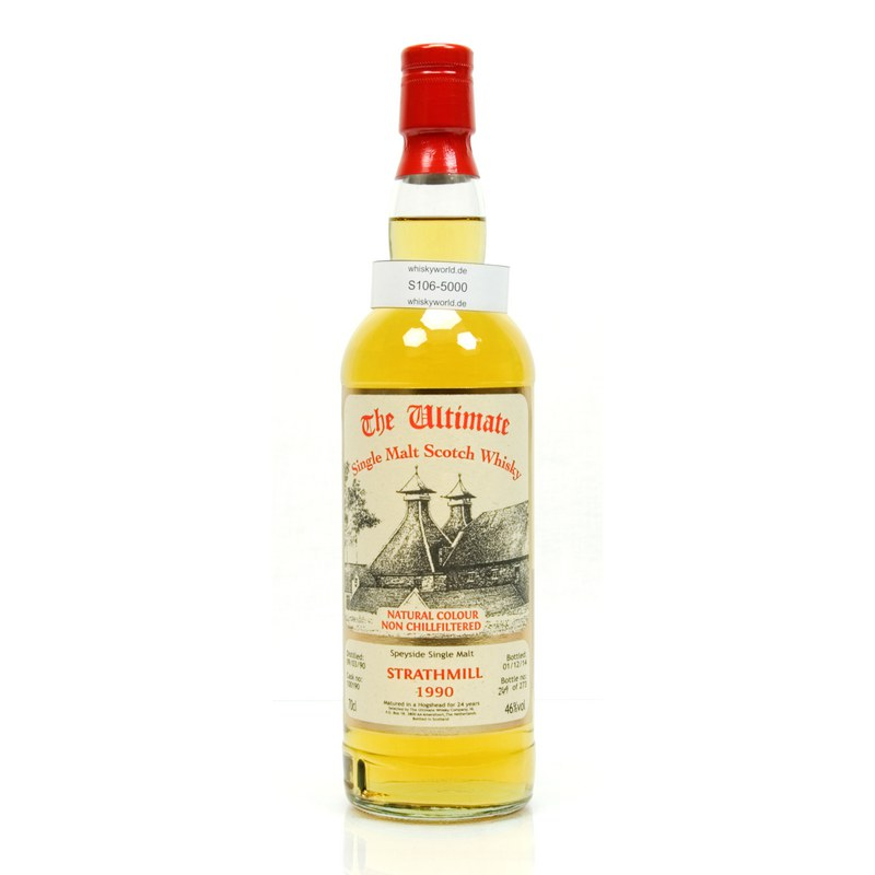 Strathmill Jahrgang 1990 24 Jahre The Ultimate Single Cask Abfüllung 0,70 L/ 46.00%