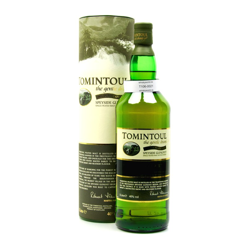 Tomintoul With a Peaty Tang Literflasche 1 L/ 40.00%