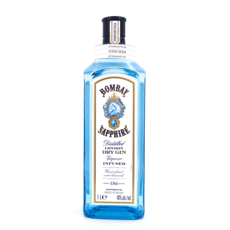 Image of Bombay London Dry Gin Sapphire Literflasche 1 L/ 40.00%