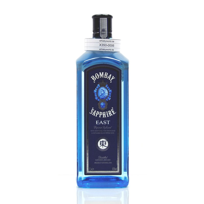 Bombay London Dry Gin Sapphire EAST Literflasche 1 L/ 42.00%