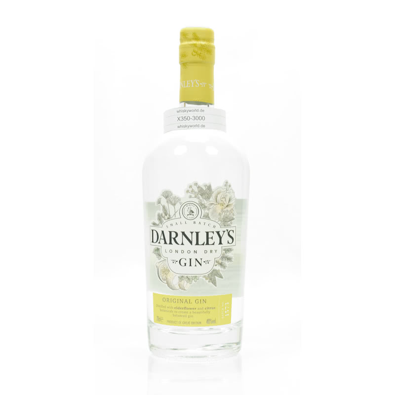 Darnley´s Original Gin Small Batch London Dry 0,70 L/ 40.00% - broschei